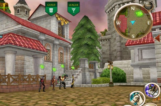 Skill trainers located in OAC's new main town, Sanctuary.