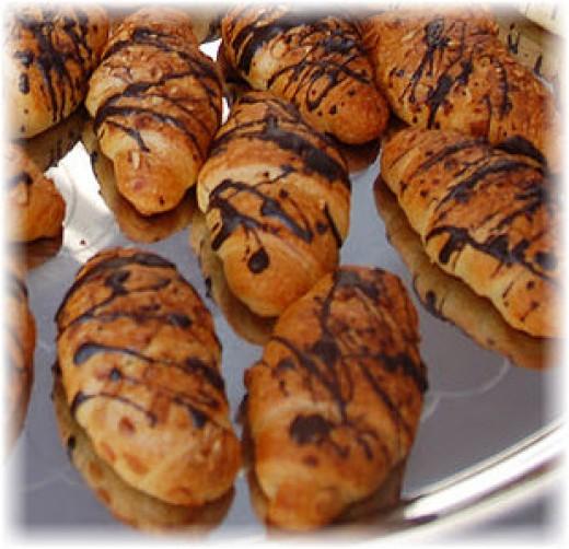 Mini-Chocolate Croissants