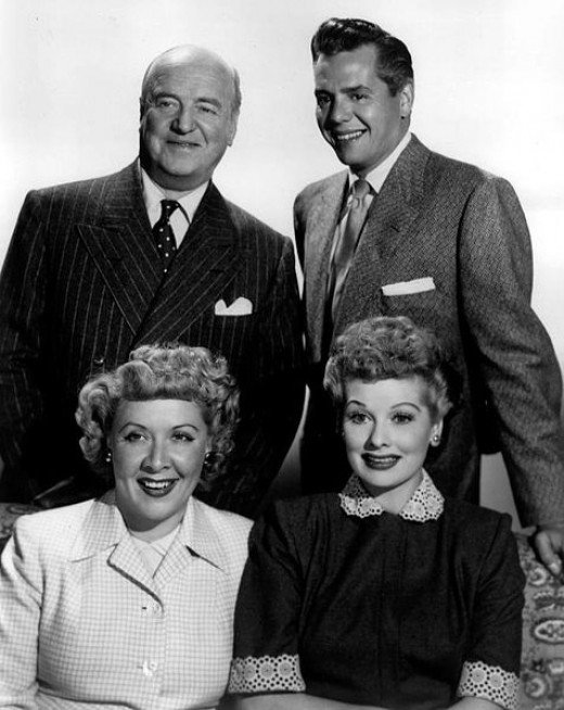 Could your foursome be as happy and trusting as Lucy and Ricky, Ethel and Fred? Released to Public Domain