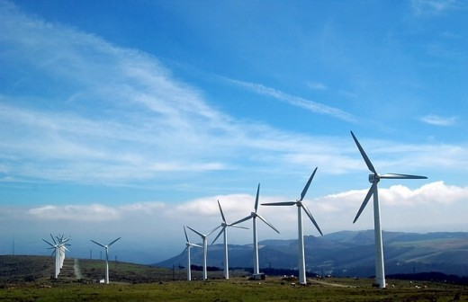 Harvesting wind energy via turbines