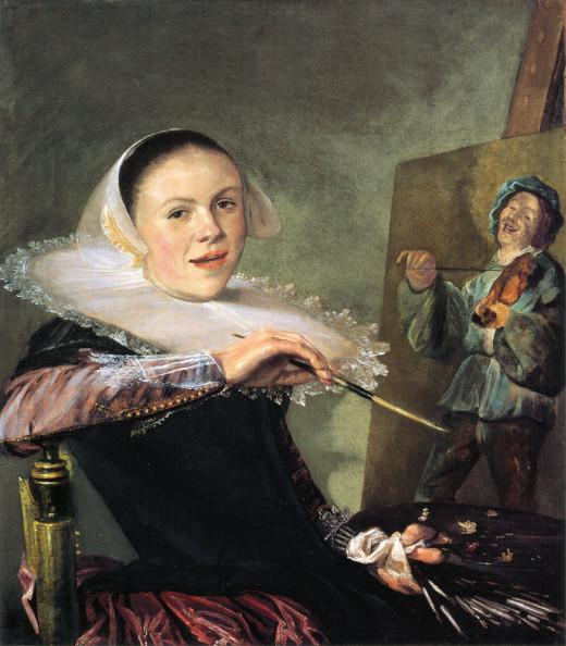 Self Portrait (c.1630) by Judith Leyster