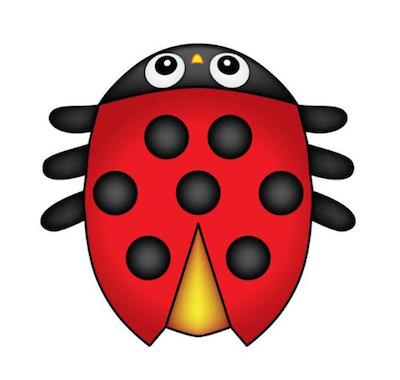 Ladybug Micro Kite