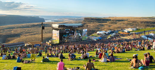 Paradiso held at the Gorge Amphitheatre, WA