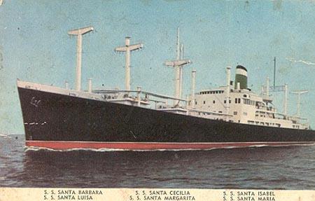 Grace Line Ship