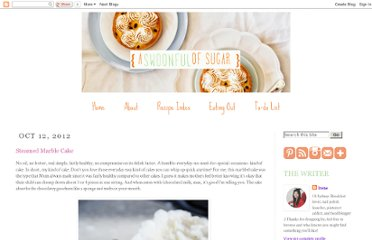 A Swoonful of Sugar blog.