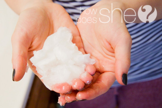 Easy way to melt up the Coconut Oil; it melts rapidly.