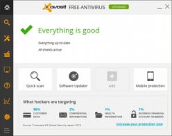 How effective is the free Avast Anti-Theft in controlling against theft of your mobile phone?