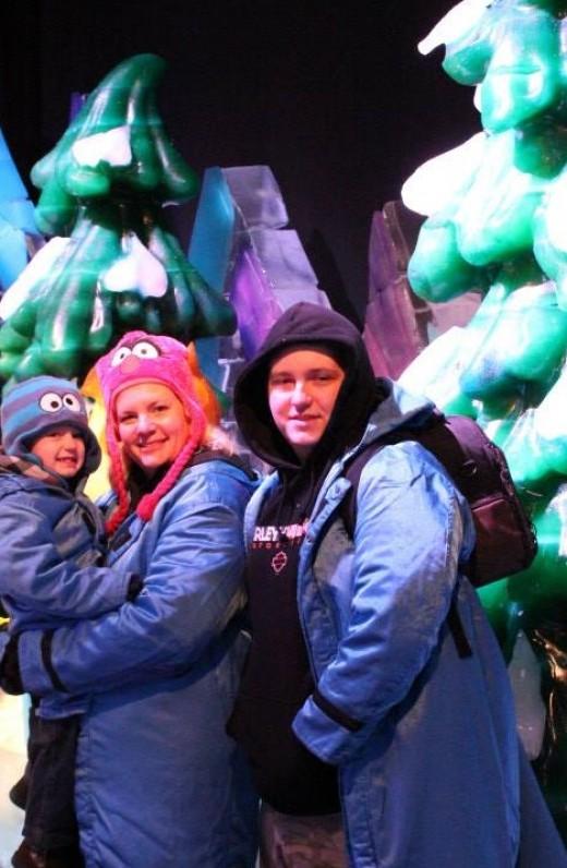 Winter fun at Gaylord Palms Resort last winter