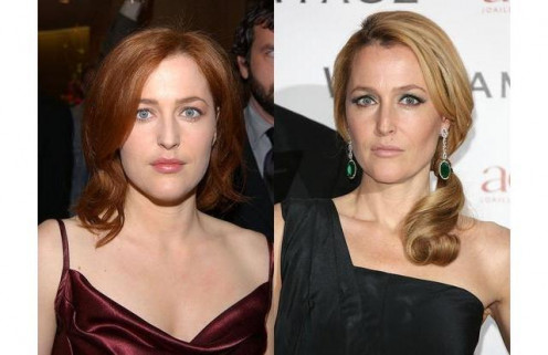 Don't let those steely eyes fool you. Gillian Anderson is one of the most-talented and yet most-secretive stars in show business today