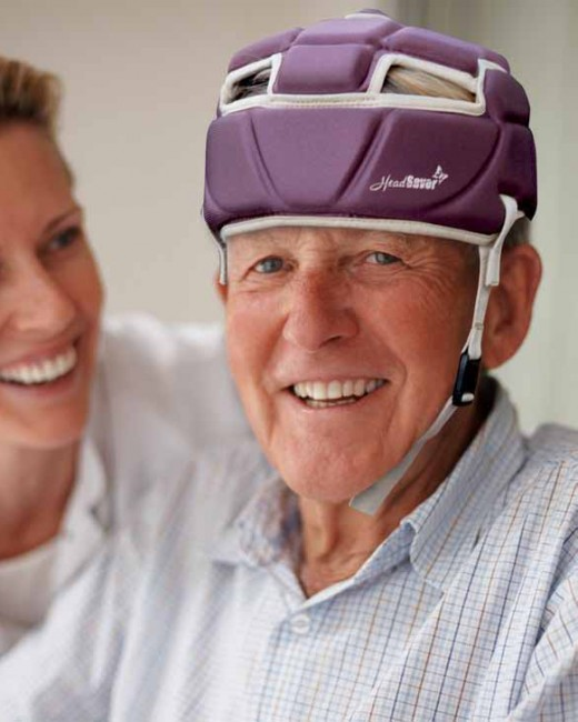 Though many falls are preventable, elderly people continue to fall and suffer fall related injuries. HeadSaver protect their heads.