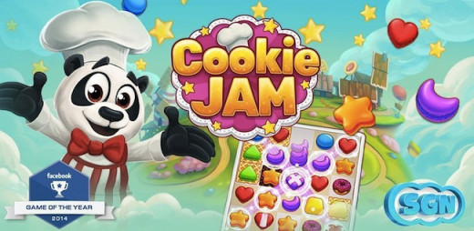 Cookie Jam- rated as the top game of the year 2014!