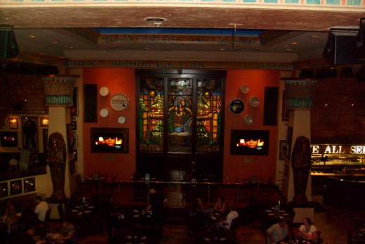 Inside view of the Hard Rock Cafe, Broadway at the Beach, Myrtle Beach, SC