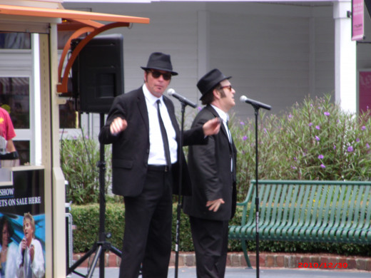 The Blues Brothers Impersonator Artists, Broadway at the Beach, Myrtle Beach, SC