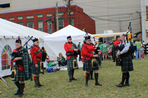 St. Patrick's Day Parade and Festival in Lexington, Kentucky Sponsored by the Bluegrass Irish Society