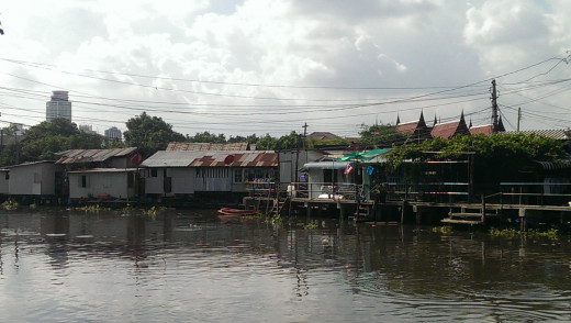 Phra Khanong canal as it looks today