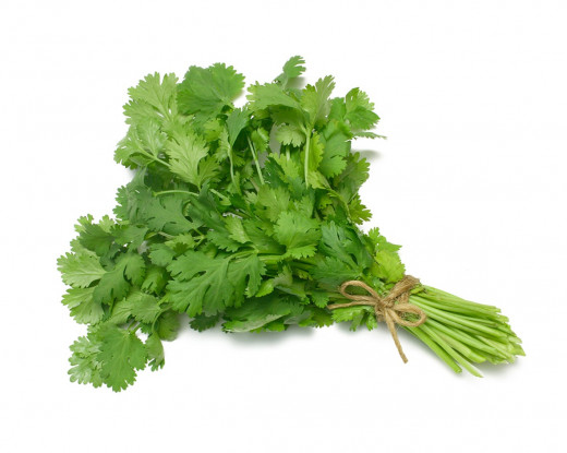 Cilantro can provide a natural chelation treatment thereby flushing the body of toxins including heavy metals and impurities.
