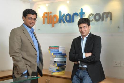 Sachin Bansal and Binny Bansal the founders of Flipkart