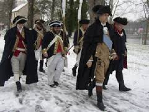 General Washington at Valley Forge