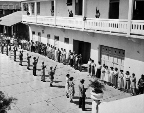 These Puerto Rican Nationalists in the early 50's, will soon be arrested and severely-interrogated