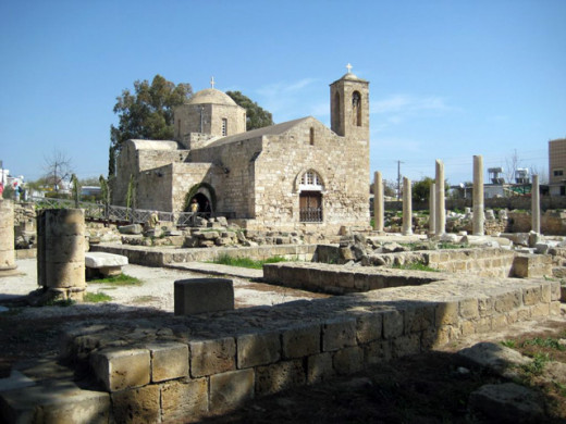 Paphos Byzantine Church - Agia Kyriaki
