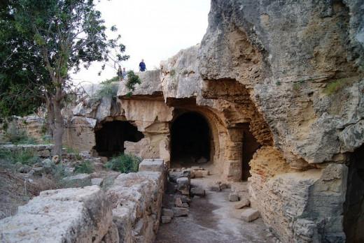 Paphos, Garrison's Camp