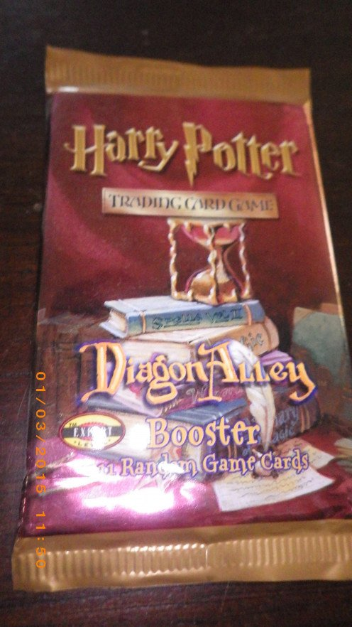 Booster pack of the Diagon Alley set