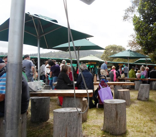 The Wild Oats Farmer's Market, Sedgefield, South Africa
