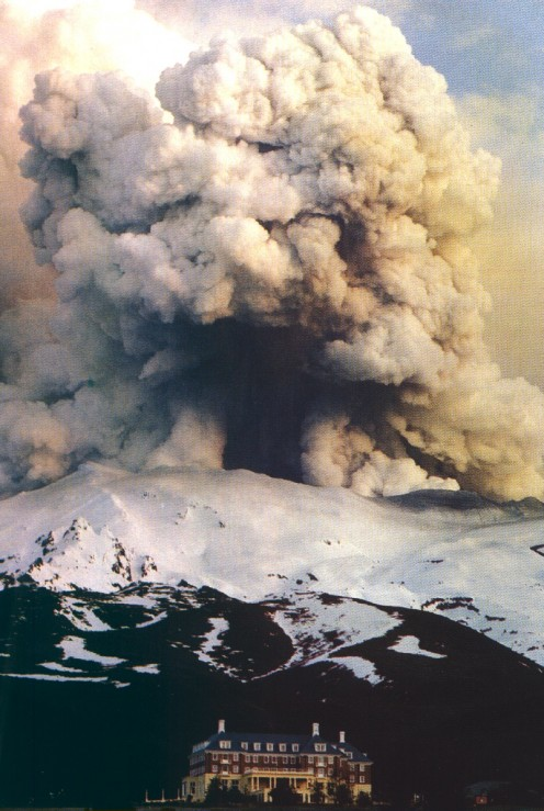 Ruapehu Eruption 1999