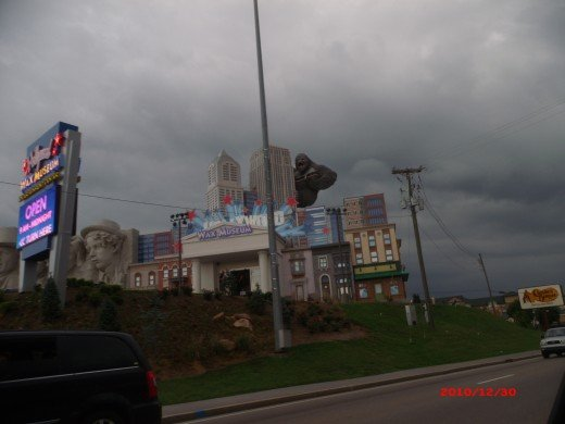 King Kong in Pigeon Forge, Tennessee