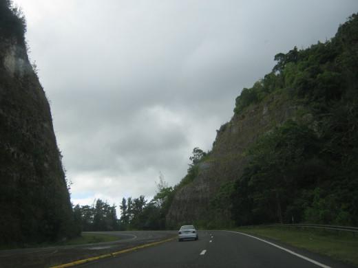 Driving the #10 to Utuado, Puerto Rico