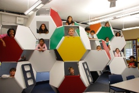 Image of Learning Spaces at The Avery Coonley School, under Creative Commons License 3.0.