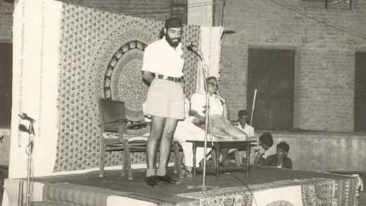 Narendra Modi with RSS