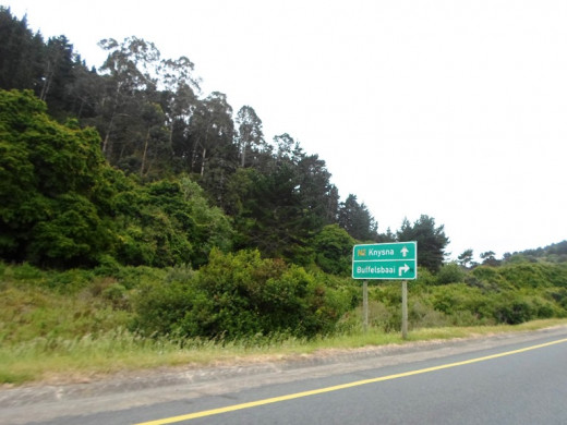 Between Sedgefield and Buffels Bay, South Africa