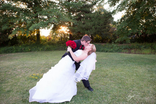 We got married in the summer of 2013
