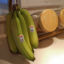 Keep bananas at had for a convenient snack during the day.