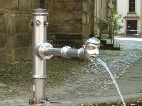 Pirna, germany, fountain