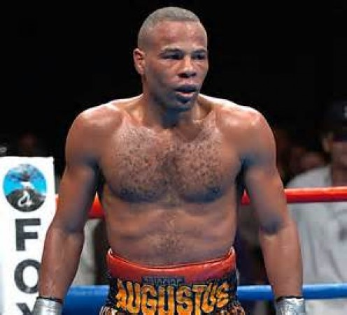 Emanuel Augustus has taken on some of the best fighters in boxing history including Floyd Mayweather jr.