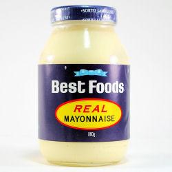 Best Foods Mayonnaise (Hellman's on East Coast)