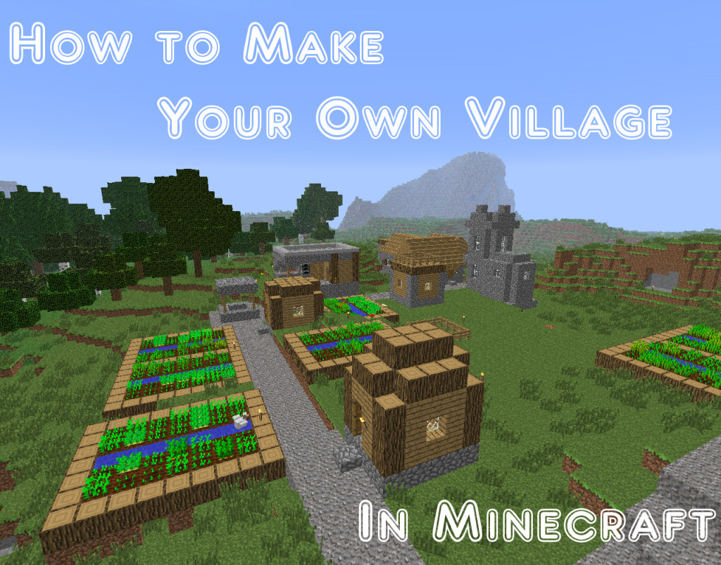 how to make your own house in minecraft