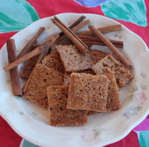 Diabetic Cinnamon Crisps