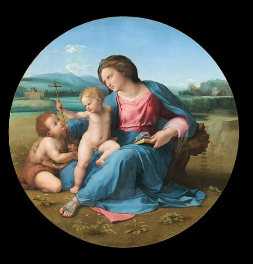 Raphael, Alba Madonna (1508-1511), Washington National Gallery