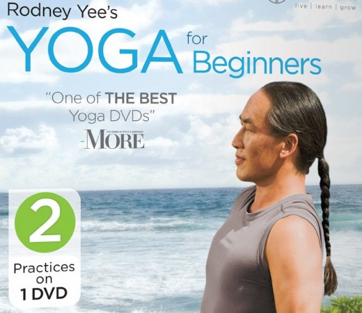 Rodney Yee's DVDs are a must-have for those looking to get started in the world of beginning Yoga.
