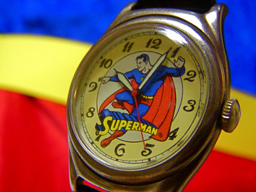 Every second of Superman's time is valuable. CC BY 2.0