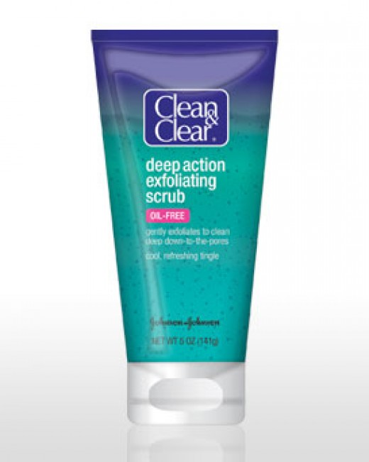 Clean And Clear Deep Action Scrub has polyethylene in the list of ingredients - that means it has plastic microbeads in it.