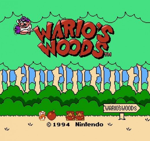 NES Title Screen