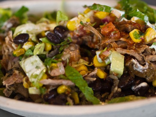 Customize your Chipotle bowl to be gluten-free and allergy-friendly (for most)!