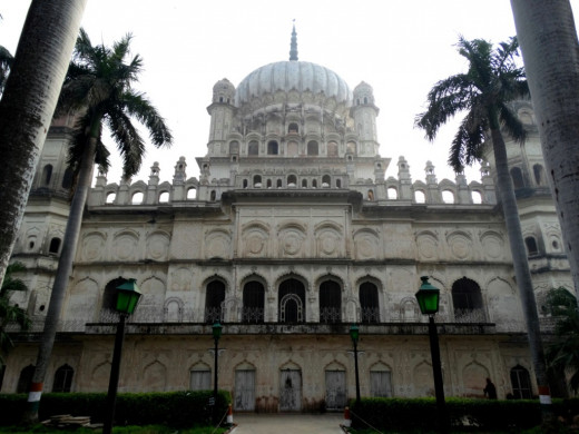 The main mausoleum