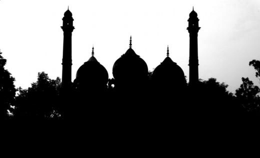 Faizabad silhouette 2