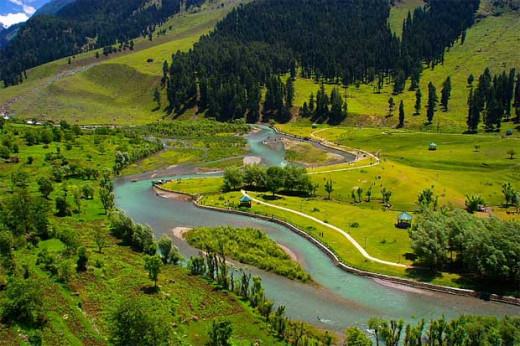 Betab Valley, Pahalgam, Jammu & Kashmir