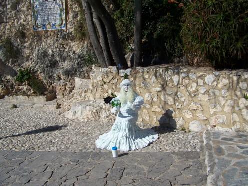 A human Statue